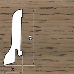 Плинтус Polarwood Дуб Коричневый 22x60 мм