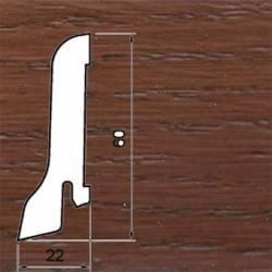 Плинтус Polarwood Дуб Коньячный 22x60 мм