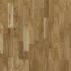 Паркетная доска Focus Floor Дуб Либецио Глянцевый 3х полосная